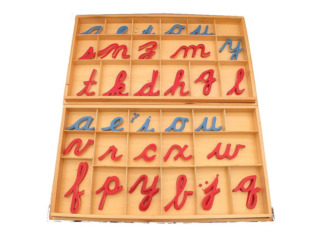 Монтессори подвижный алфавит своими руками 53