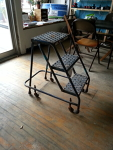 3 step metal stepstool