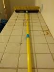 Yellow Quickie Push Broom