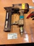 Duo-Fast Pneumatic Stapler