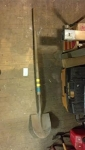 Wooden Handle Spade Shovel
