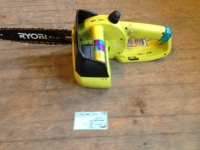 "Ryobi 10"" Cordless Electric Chainsaw"