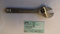 8 inch Crescent Wrench