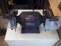 "5"" 1/5 HP bench grinder"