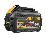 20v/60v FLEXVOLT battery 6.0ah/2.0ah [DCB606]