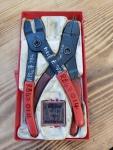 Circlip pliers / Retaining ring pliers kit