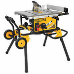 """10"""" Table Saw on stand"""
