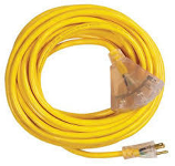 100 ft outdoor extension cord 3 outlet