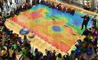 Giant Mars Map
