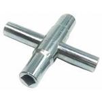 4 Way Steel Water Key