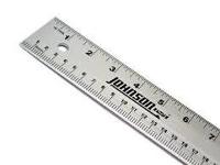 """48"""" metal ruler"""