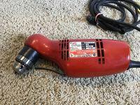 45 degree corded drill