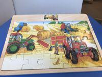Puzzel tractors