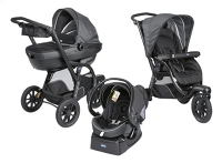Chicco Wandelwagen Trio Active 3 Top iron