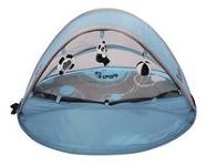 UV Werende tent blauw