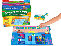 Public Library Only - Learn to Code File Folder Games (K- Gr. 1)