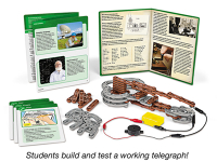 Public Library Only Samuel Morse Problem Solving STEM Kit (6 Kits)