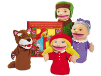 Public Library Only Little Red Riding Hood Storytelling Puppet Set