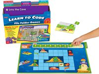 Public Library Only - Learn to Code File Folder Games (Gr 2-3)