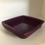 Cake Mould (Silicone - Square) Purple