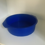 Cake Mould (Silicone - Round) Blue