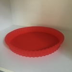 Tart Mould (Silicone - Round) Red