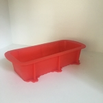 Loaf Mould (Silicone) Red