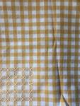 Tablecloth - Cloth (Orange Gingham Small)