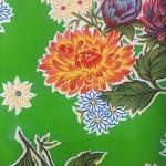 Tablecloth - Mexican Oilcloth (Green)