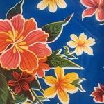 Tablecloth - Mexican Oilcloth (Dark Blue)