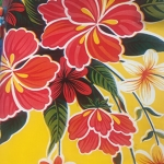 Tablecloth - Mexican Oilcloth (Yellow)