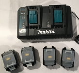 4 Accus et chargeur pour outils Makita