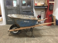 6 cubic ft wheelbarrow