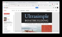 Ultrasimple Boat building by Gavin Atkin