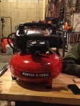 6 gallon/ 150psi compressor