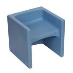 Cube Chair - Light Blue