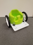 Bumbo Wheel Chair White Wheels