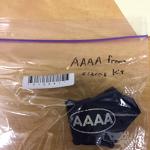 Hand Splint From Sizing Kit AAAA