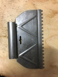 """1/4"""" Slotted Trowel"""