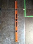 4' Orange I-beam level