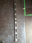 4' Silver I-beam level