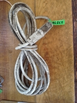 20' extension cord, White