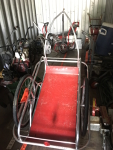 Bike Trailer, Red Deck