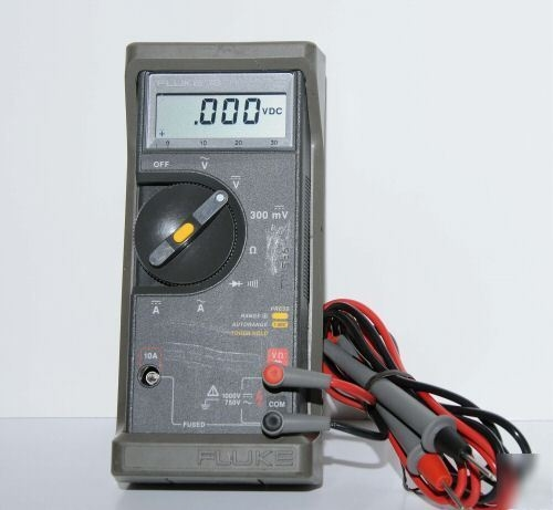 missoula urban demonstration project meter multi digital rh mud myturn com Fluke 73 3 Multimeter Fluke 70 Series II Multimeter