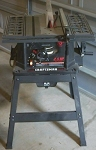 """Table Saw, 10"""" 2.5HP"""