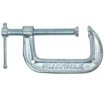 C-Clamp, Steel, 4''