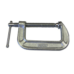 C-Clamp, Steel, 2.5