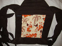 Babyhawk Oh Snap! brown floral