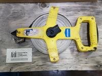 Tape Measure, open reel, 100'