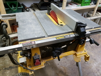 Table Saw, portable, with stand